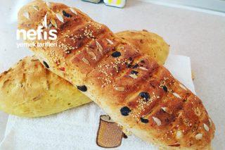 Zeytinli Çekirdekli Köz Biberli Ekmek Tarifi