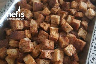 Baharatlı Kruton (Bayat Ekmek Değerlendirme) Tarifi