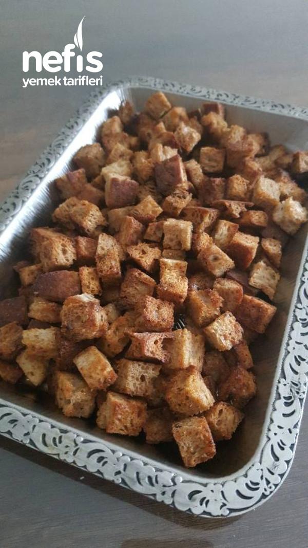 Baharatlı Kruton (Bayat Ekmek Değerlendirme)