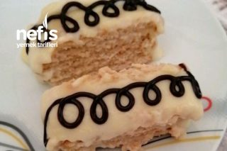 Bisküvili Pasta Çok Pratik Tarifi