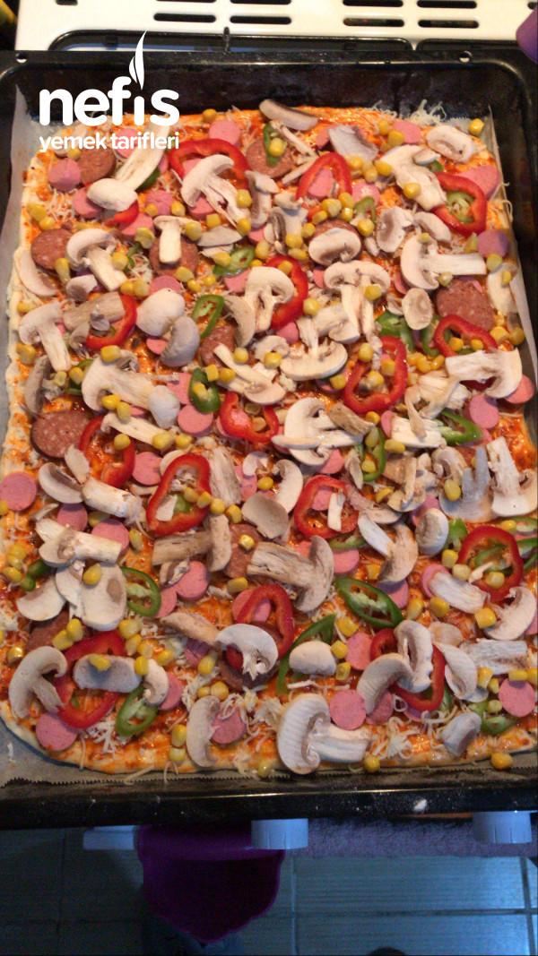 Dışarıda Ki Tatları Aratmayacak Nefis Pizza