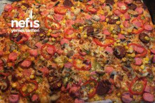 Pizza (Pamuk Gibi İncecik) Tarifi