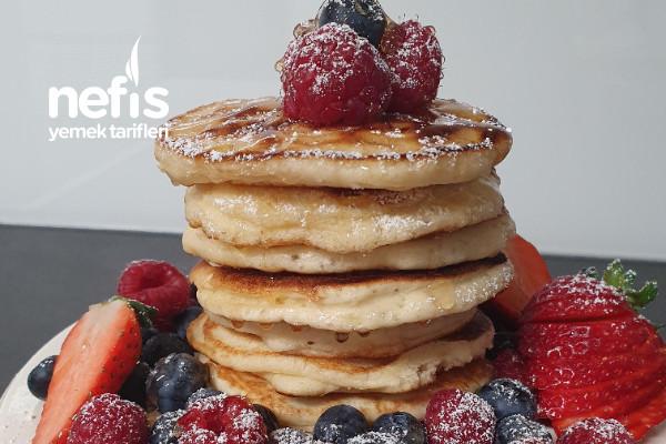 Enfes Ve Çok Pratik Pankek (Pancake)