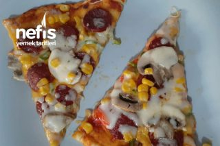 Ev Yapımı Dominos Pizza Tarifi