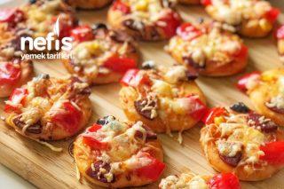 Kahvaltılık Mini Pizza Tarifi
