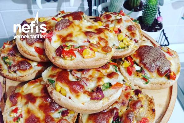 Kolay Pizza Tarifi