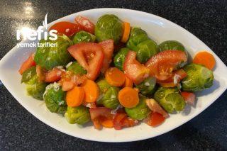 Vitamin Bombası Brüksel Lahanası Salatası (Videolu) Tarifi