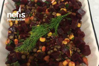 Yeşil Mercimekli Pancar Salatası Tarifi