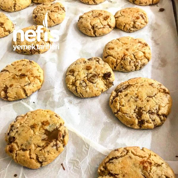 Çikolata Parçacıklı Cookie(içi Yumuş)