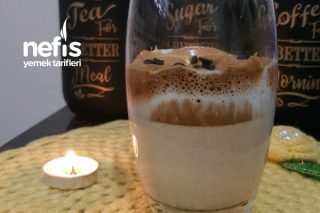Dalgona Kahve (Damla Çikolatalı) Tarifi