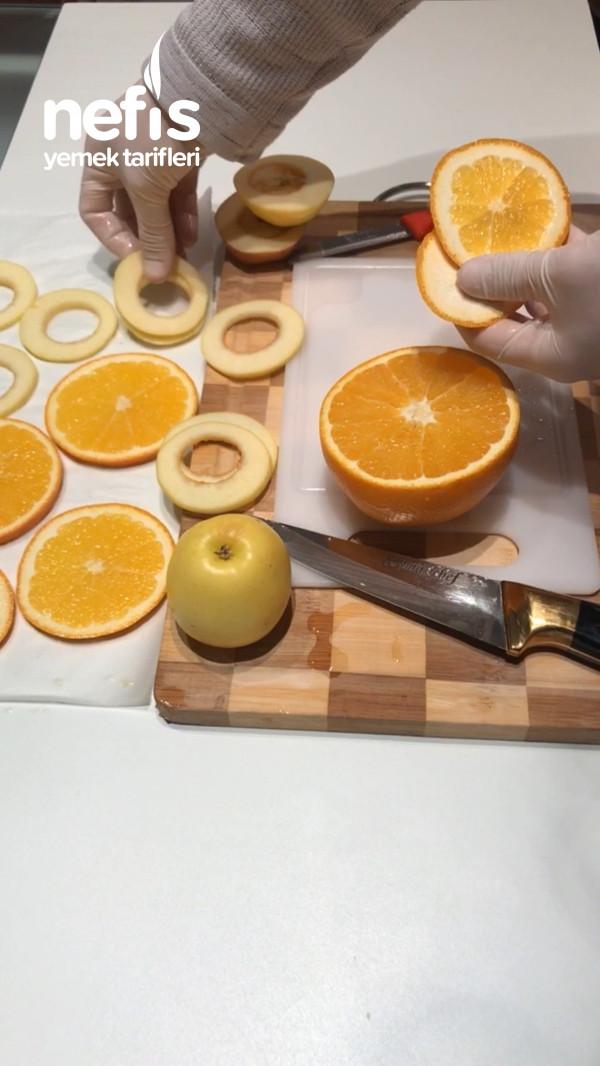 Evde Kurutulmuş Meyve