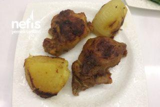 Fırın Poşetinde Tavuk Pirzola (Kebap Tadında) Tarifi