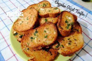 Fırında Yumurtalı Peynirli Ekmek Dilimleri Çok Pratik Ve Lezzetli (Videolu) Tarifi