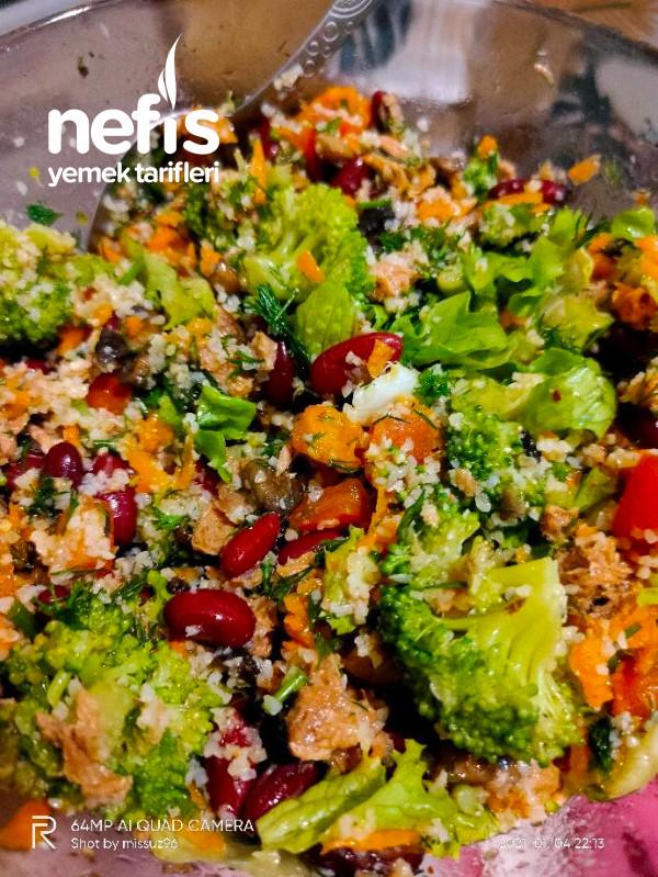 Meksika Fasulyeli Sebze Salatası