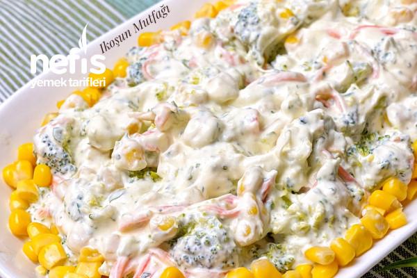 Yoğurtlu Brokoli Salatası (Videolu) Tarifi