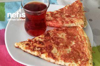 Kahvaltıya 5 Dakikada Tava Böreği Tarifi