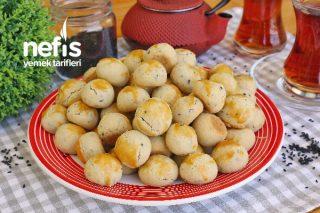Tek Lokmalık Mini Çörek Otlu Kurabiye (videolu) Tarifi