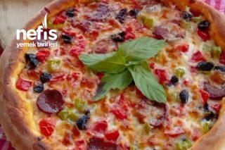 Bağımlısı Yapan Olay Pizza Tarifi