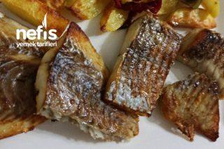 Patatesle Birlikte Fırında Mezgit Fileto Tarifi