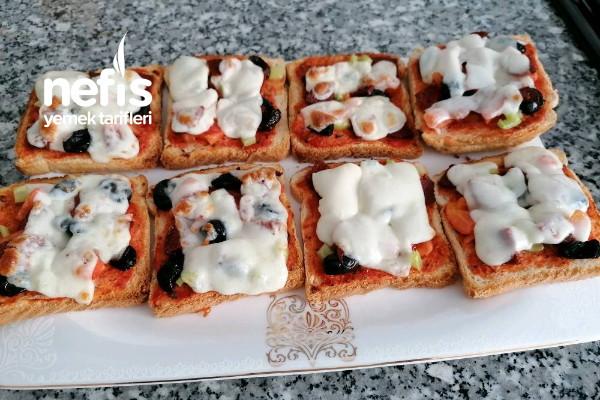 Pratik Kahvaltılık Pizza Tarifi