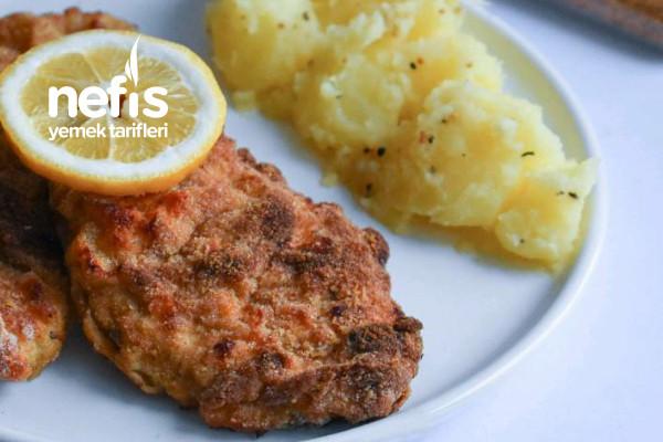 Schnitzel Ve Patates Salatası Tarifi