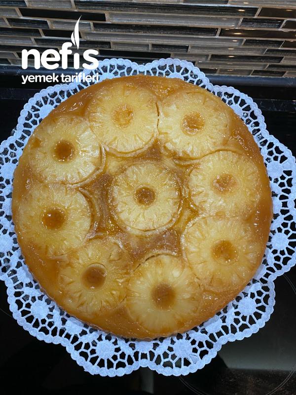 Ananaslı Pratik Kek Tarifi