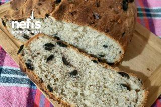 Baharatlı Zeytinli Çekirdekli Tost Ekmeği (Bir Günde Bitti) Tarifi