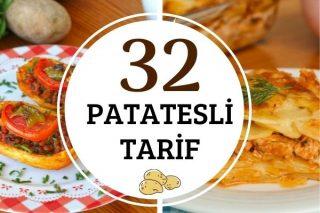 Patates Yemekleri: Her Biri Favoriniz Olacak 32 Değişik Tarif Tarifi
