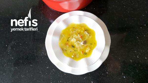 Tavuklu Sebzeli Şifa Çorbası (Videolu)