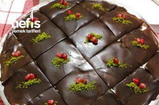 Yaş Pasta Lezzetinde Muzlu, Çikolatalı Borcam Pasta (Videolu) Tarifi