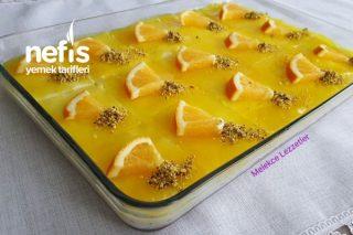 Yedikçe Yediren Portakallı Etimek Tatlısı Tarifi