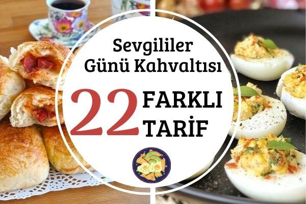 Sevgililer Günü Kahvaltısı: 22 Farklı Öneri Tarifi