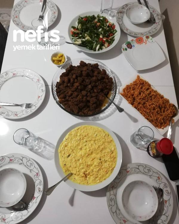 Akşam Yemeği Menüsü