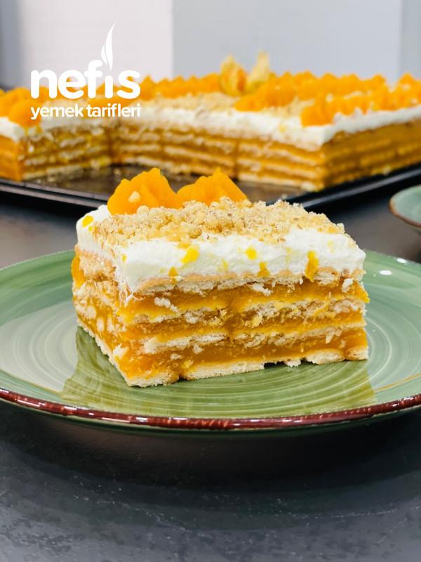 Bisküvili Bal Kabaklı Pasta