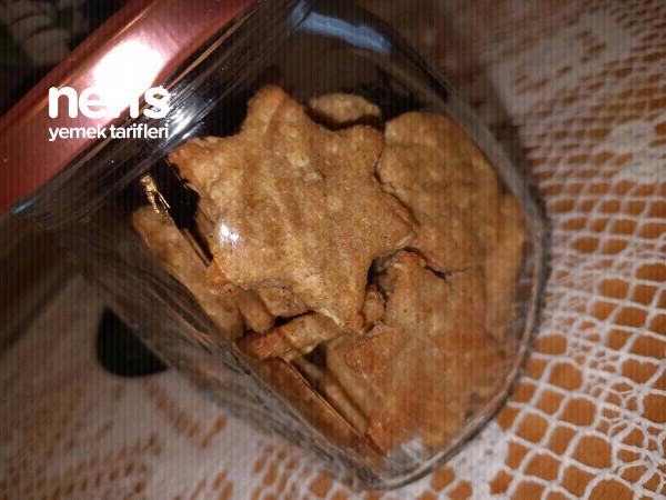 Bebek Bisküvisi Elmalı Tarçınlı (Süt Ve Yumurta Alerjisi Olanlara)