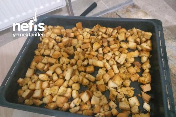Ekmekler Boşa  Gitmesin  Baharatlı Kruton Tarifi