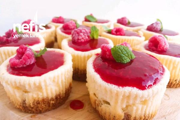 Frambuazlı Cheesecake (Videolu) Tarifi