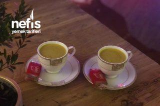 Latte Zerdeçal Tarifi
