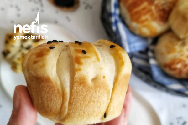 Muffin Kalıbında Puf Poğaça Tarifi
