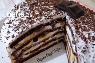 Puf Puf Pankek Pastası Çok Pratik Ve Hafif (Videolu) Tarifi