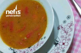 Tarhana Çorbası(Nazilli Bozdoğan Yöresinin Börülceli Biberli Çorbası) Tarifi
