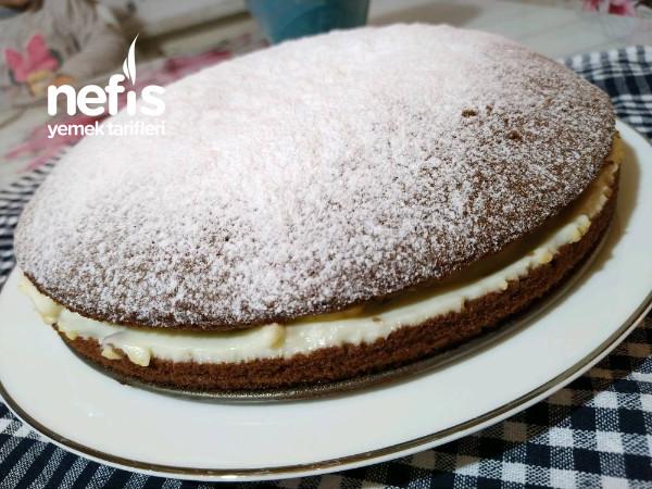 Evdeki Malzemelerle Kakaolu Pratik Alman Pastası (Videolu)