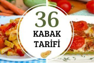 Kabak Yemekleri: Çorbasından Salatasına Her Çeşit 36 Enfes Tarif Tarifi
