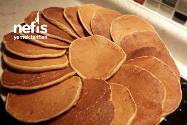 Bebeklere Muzlu Pancake