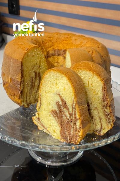 Kabardıkça Kabaran kakaolu sade Kek( mutlaka denemelisiniz)