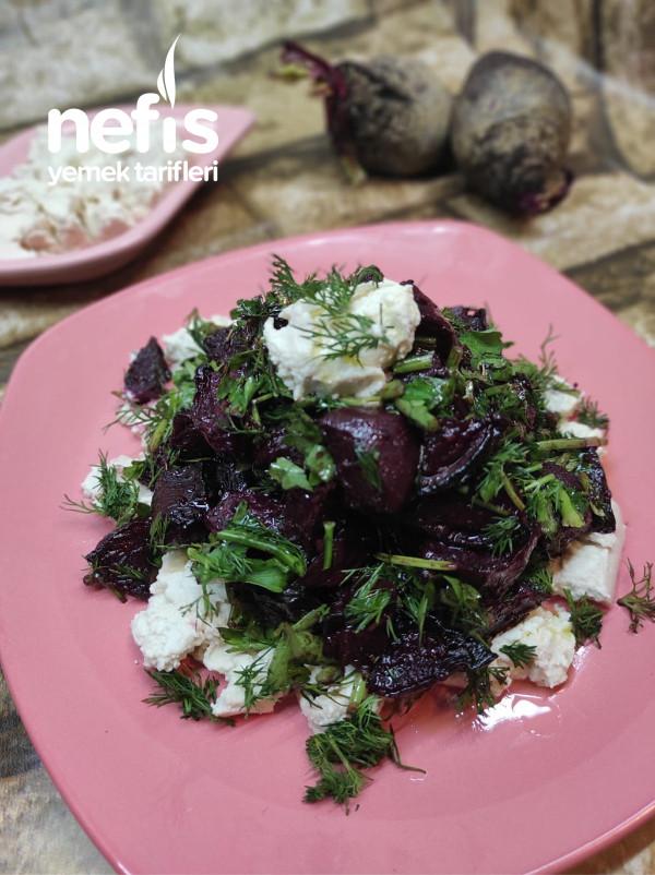 Tuzlu Yoğurtlu Pancar Salatası