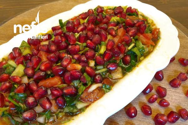 Bostana Salata (Şanlıurfa) Tarifi