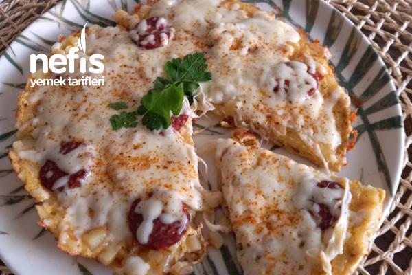 Enfes Patates Pizzası Tarifi