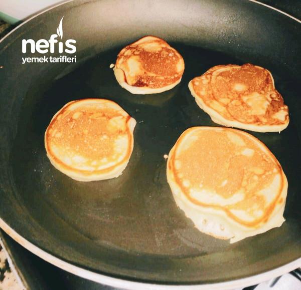 Kahvaltı İçin Kolay Pankek