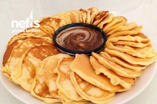 Kahvaltı İçin Kolay Pankek Tarifi